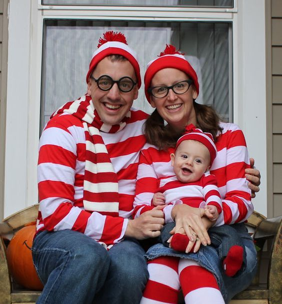 DIY Where is Waldo Halloween Group Costume Idea DIY Halloween - simple halloween costumes ideas