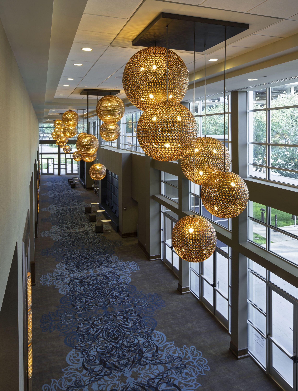 Lodge Foyer Lighting : Zilker ballroom foyer lighting at hyatt regency austin