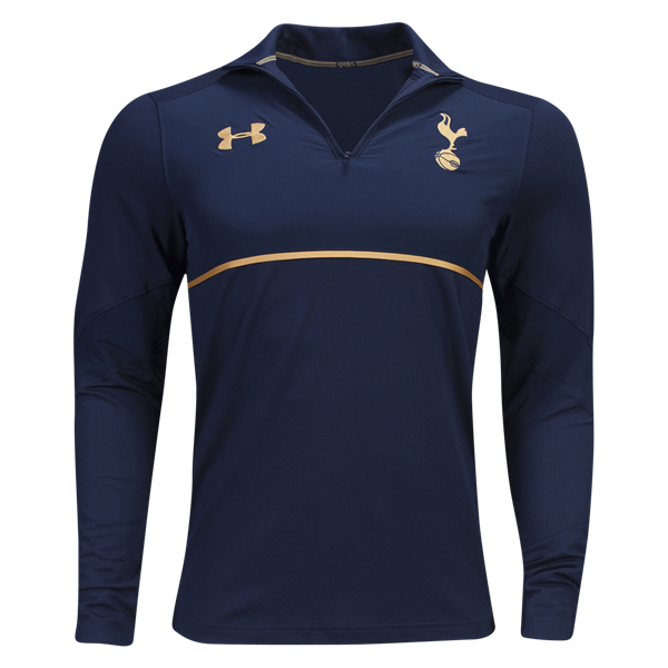Tottenham Coldgear Infrared 1 4 Zip Top       Soccer training gear and  apparel at WorldSoccerShop.com 87b758df0