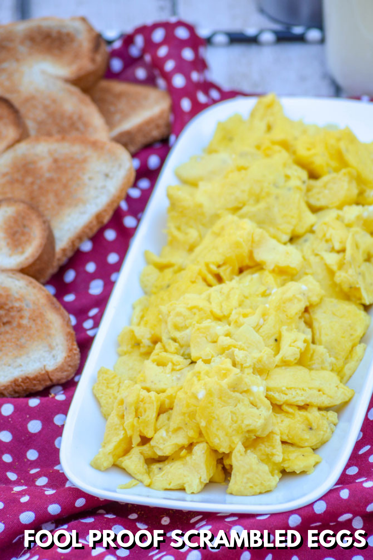 How To Make Fool Proof Fluffy Scrambled Eggs images
