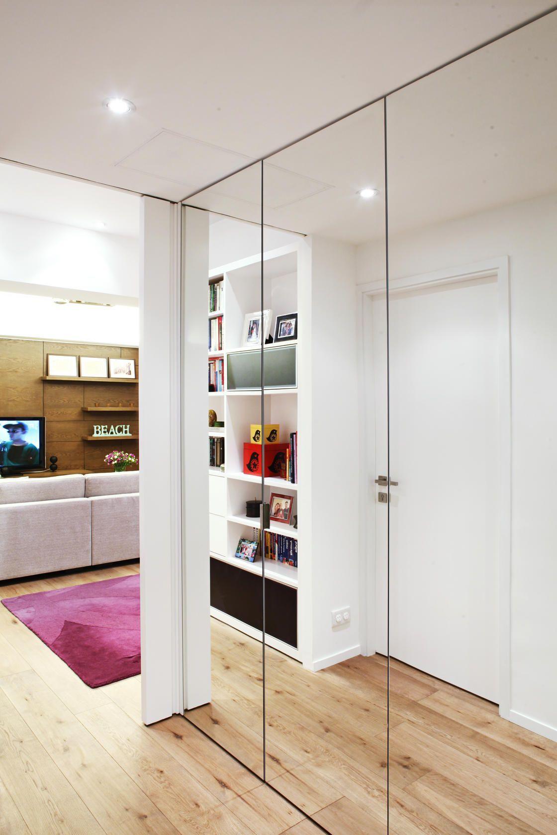 Armadio A Muro Design armadio a muro nel corridoio (57 foto): tipi e materiali