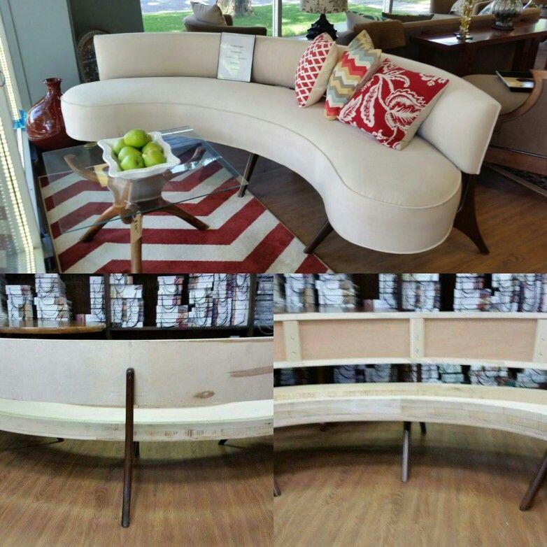 Custom made Vladimir Kagen floating sofa. For sale at our