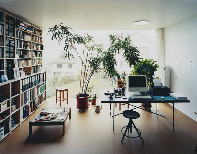 modern private home office. Fantastic Home Office In Switzerland. Photo By Dublin Native, Simon Watson. Modern Private