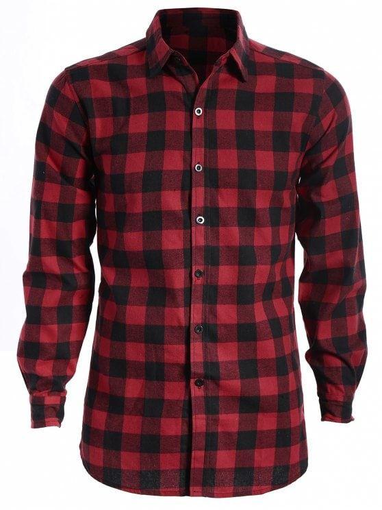 4d81451076 Camisa a cuadros casual para hombre | Outfits | Camisa cuadros ...