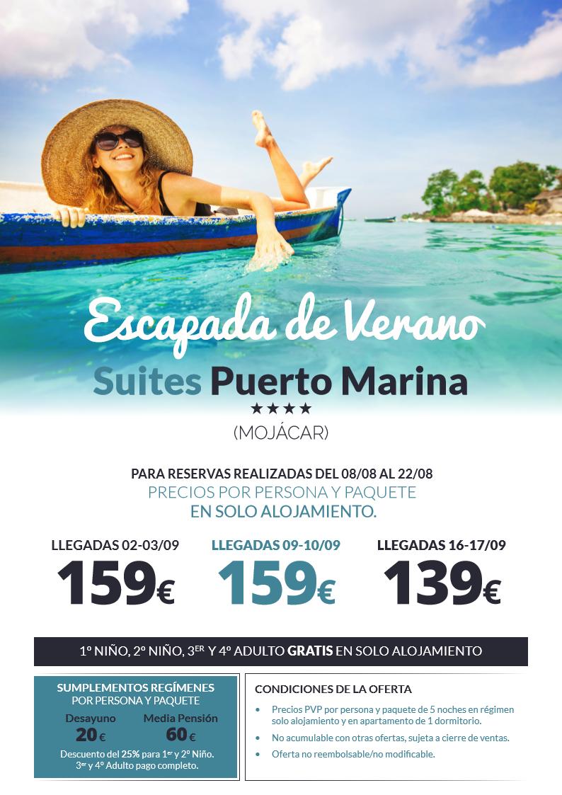 Hotel Suites Puerto Marina Mojácar Almería Andalucía España Especial Septiembre Llegadas 02 03 09 10 16 Mojacar Agencia De Viajes Almería