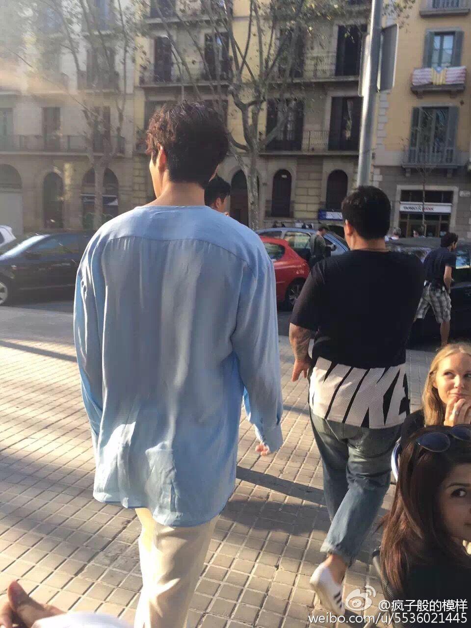 Lee Min Ho, Barcelona, 20160917, Legend of the Blue Sea
