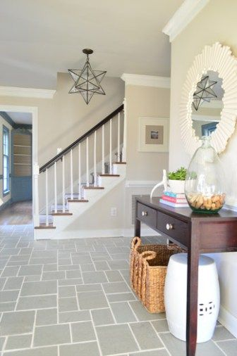 Making Old Discolored Grout Look Like New Grout Foyers And Tile - How to clean white grout lines on tile floor