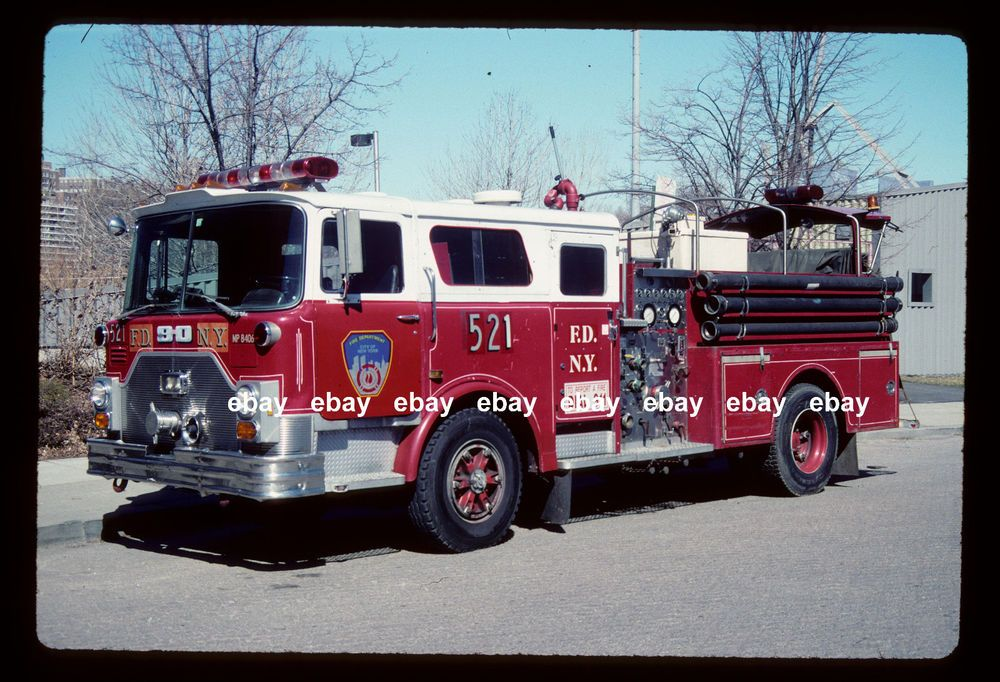 Details about New York City Reserve Engine 518 1984 Mack CF Ward 79