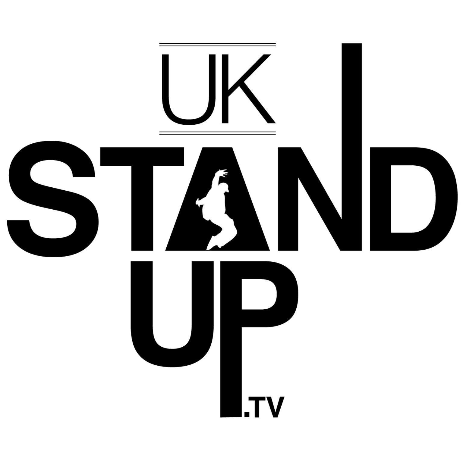 A logo I designed for dance event company Uk Stand Up TV
