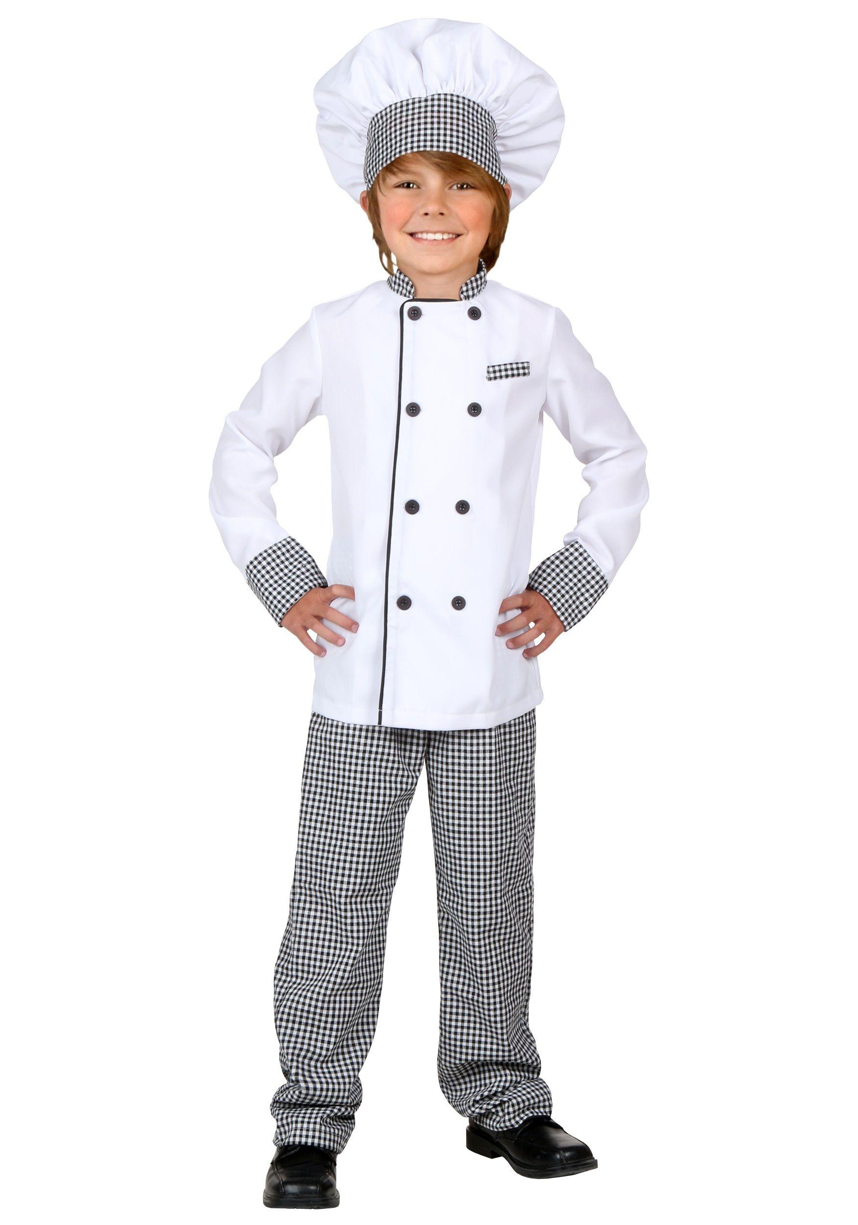 0fe7bd53f2ce0 Child Chef Costume | costumes | Chef costume, Kids chef costume ...