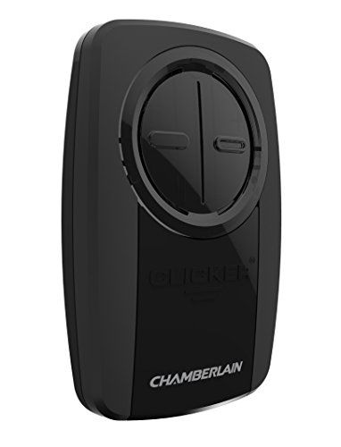 Chamberlain Group Klik3u Bk Clicker Universal 2 Button Garage Door