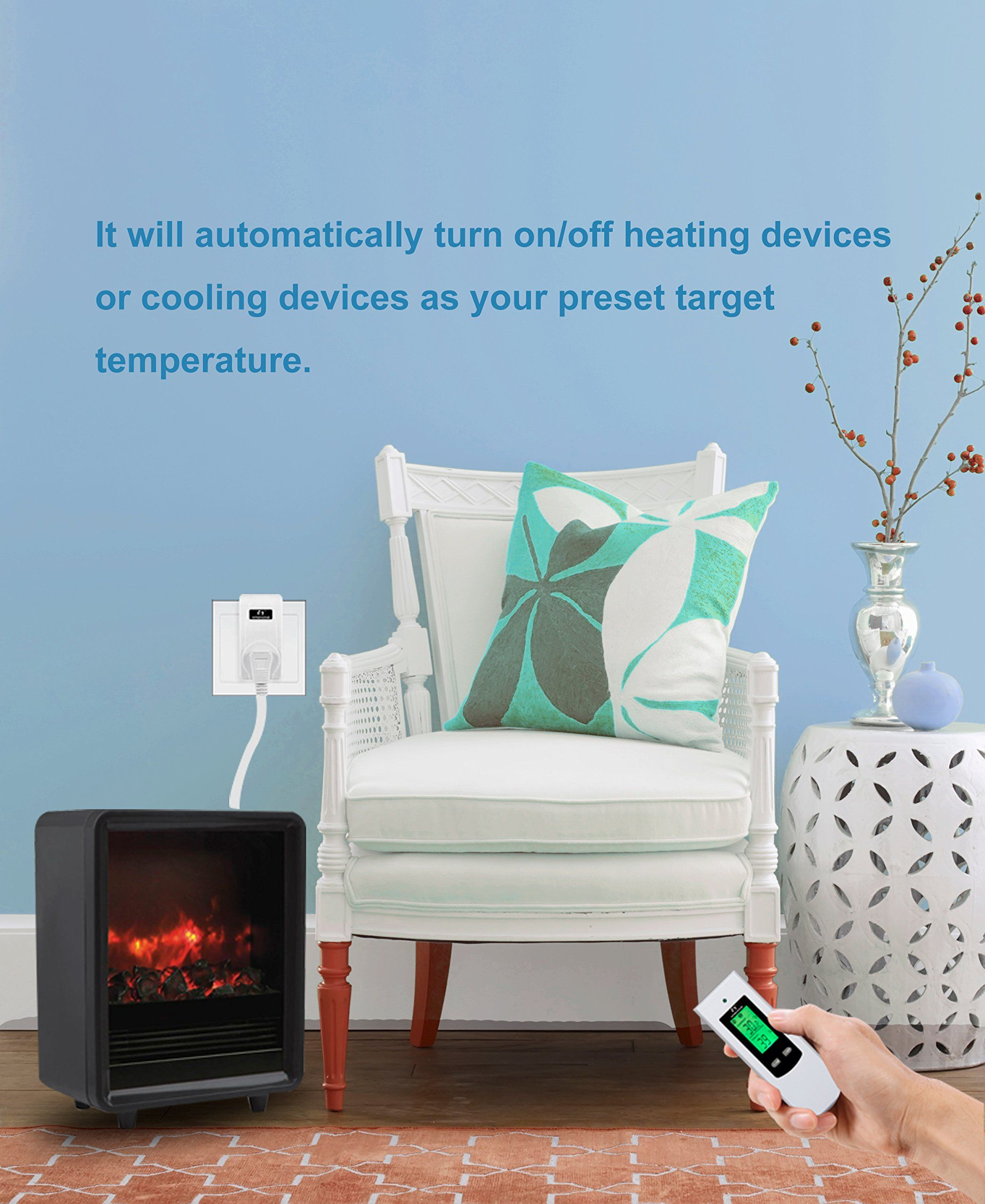Nashone Wireless Temperature Controllerelectric Thermostat With