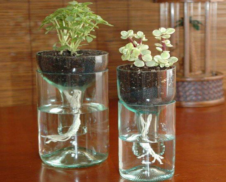 sch ne vase selber machen als beispiel wie man aus einer glasflasche eine designer vase. Black Bedroom Furniture Sets. Home Design Ideas