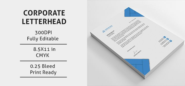 Corporate Letterhead Image  Letterhead    Letterhead