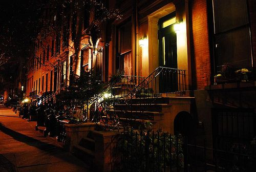 Dreamy brownstones in Brooklyn. Saving our pennies to own a part of NYC history.