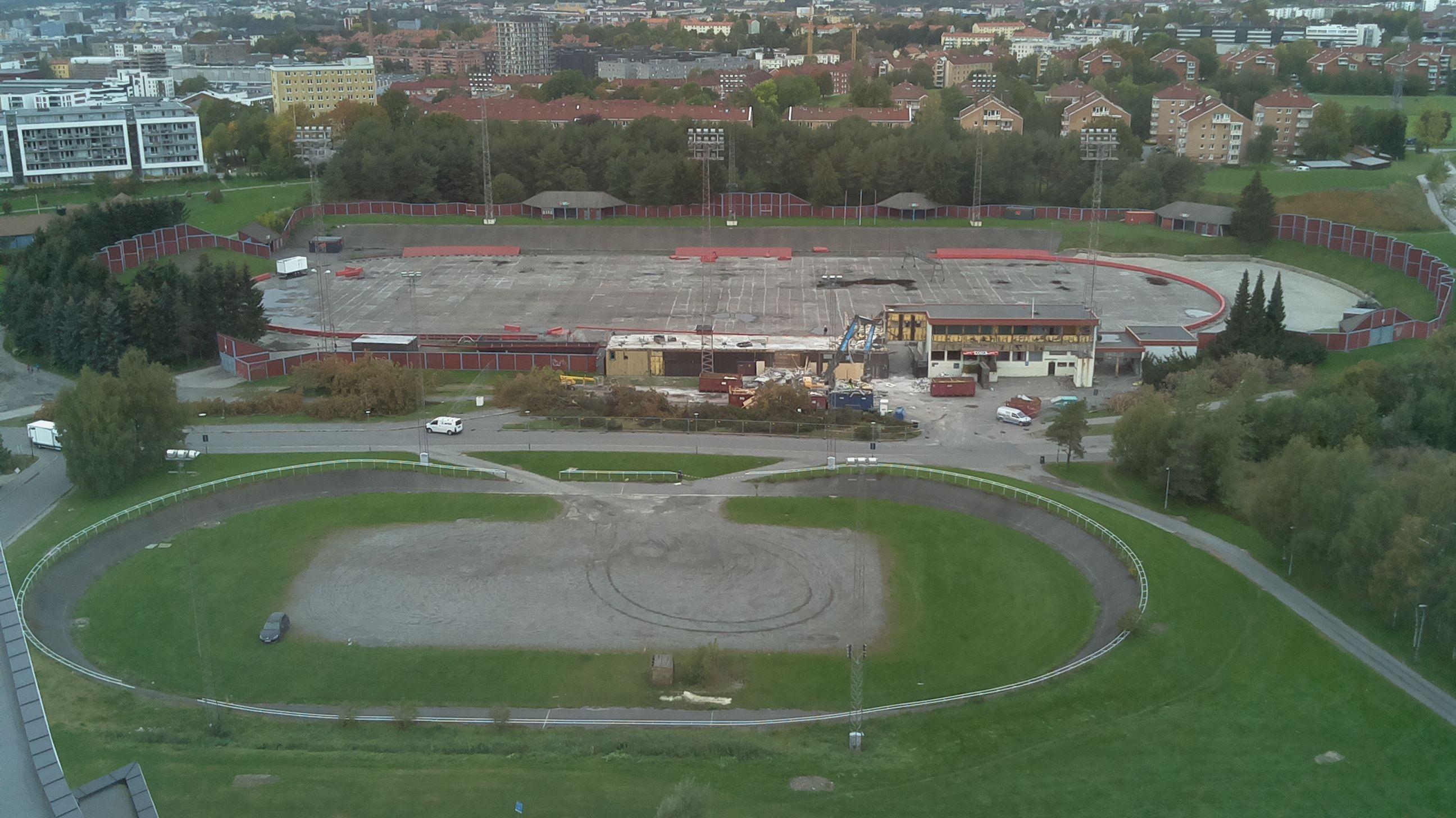 Følg stadionbyggging live hos VPN  1 Okt. 16:00