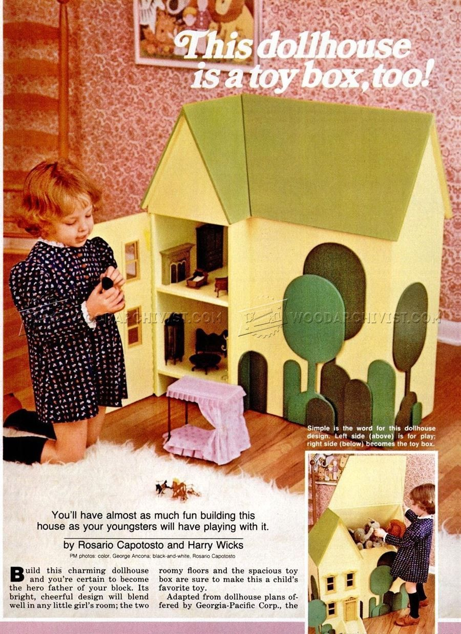 wooden doll house plans - wooden toy plans | art, crafts