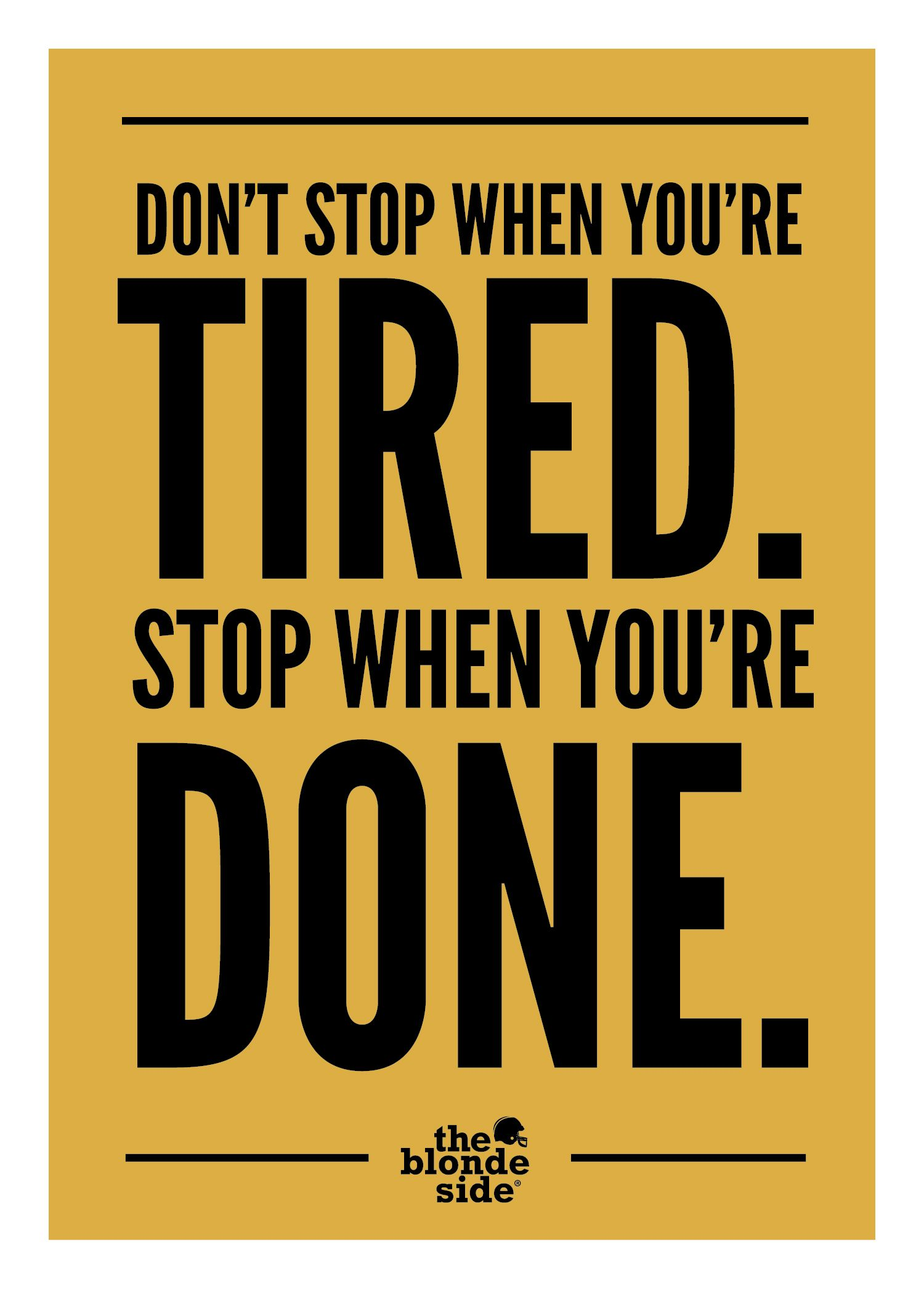 Don't stop, won't stop. #sports #quotes - http://Pin4Cash.com ...