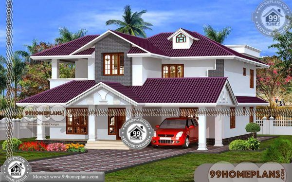 Veedu model two story small house design traditional also rh in pinterest