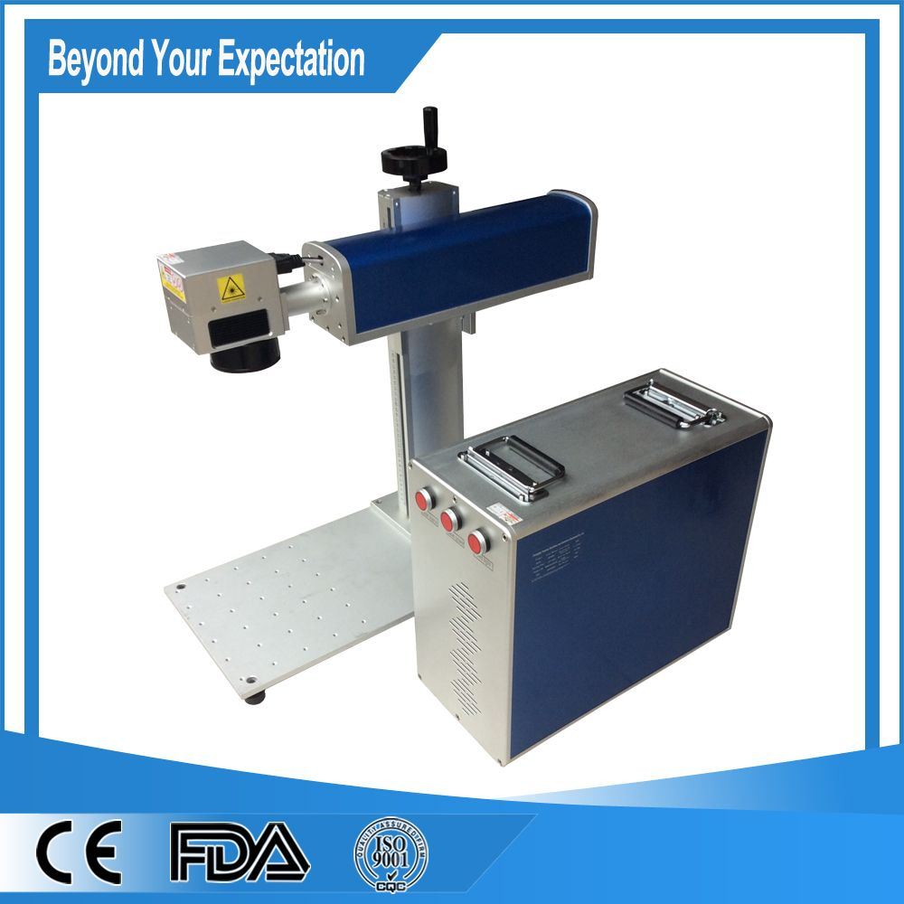 Top Selling Metal Desktop 10w Fiber Laser Engraving Machine For Silicon Wafers Laser Engraving Machine Laser Marking Laser Labels