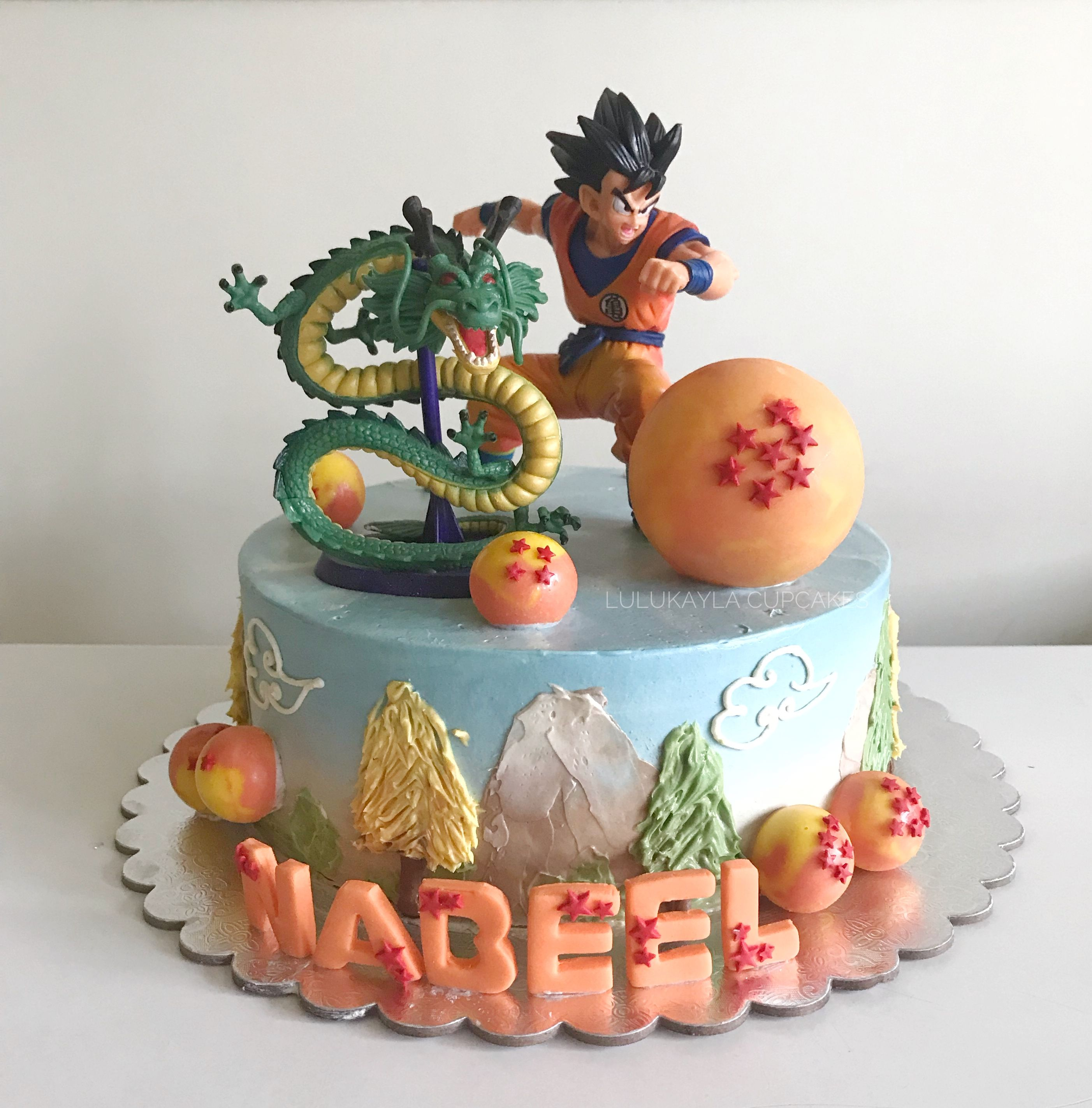 Dragon Ball Z Cake With Images Cake Birthday Cake Dragon Ball Z