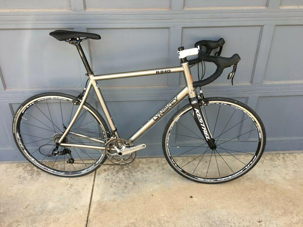 Lynskey Titanium 240 Road Bike Xl Size 60cm Titanium Road Bike