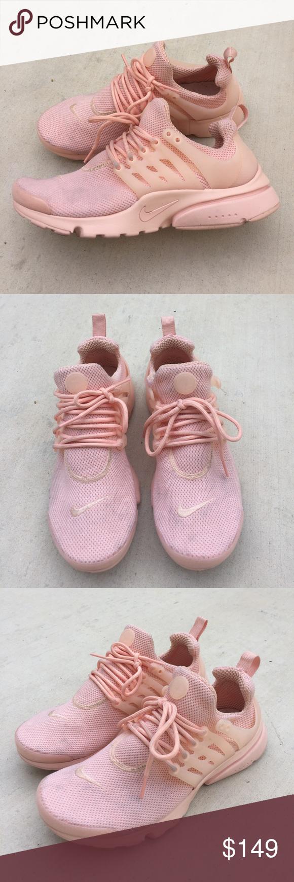 Nike Air Presto Sz 8 Pink Peach