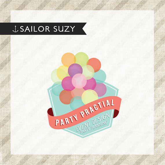 Confetti Party Store Logo Design | Sal's Design | Pinterest | Logos