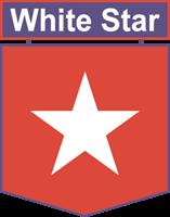 White Star Logo Star Logo Logos Sports Logo