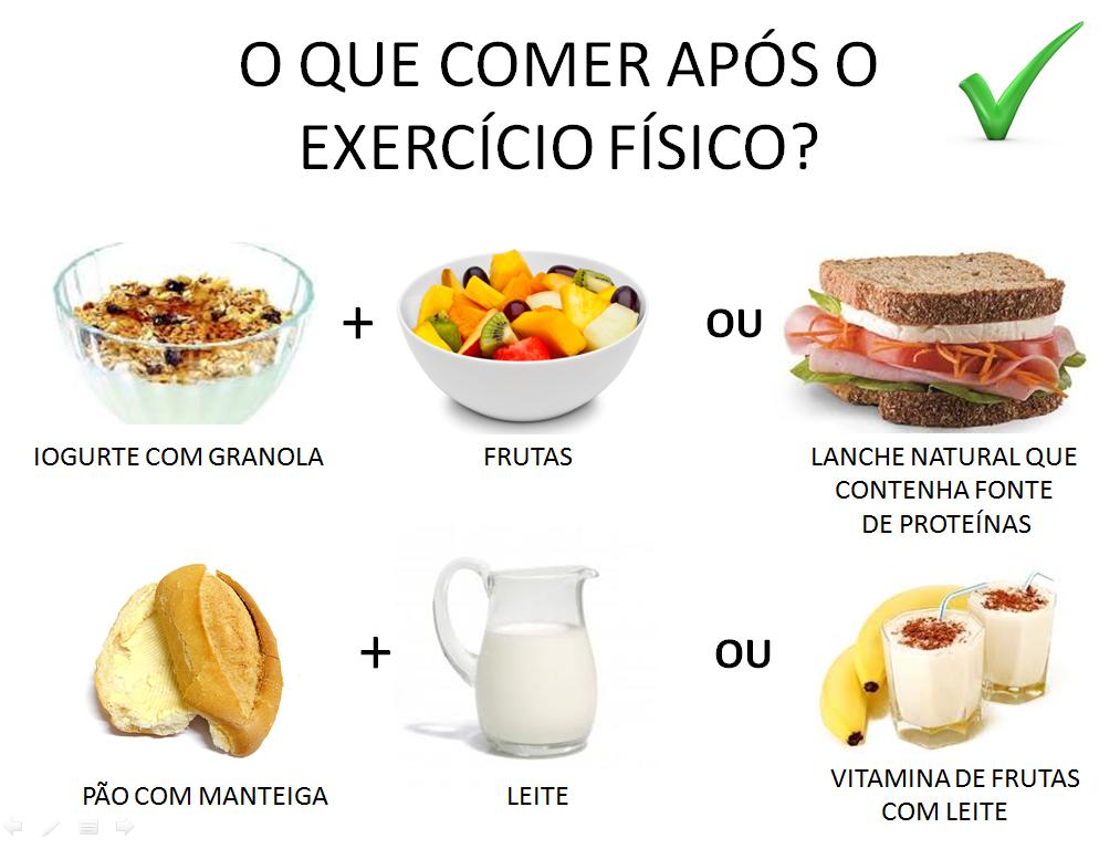 Saúde um desafio: Aprenda o que comer após malhar