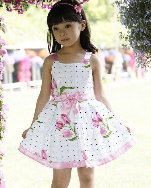 d84061f798 Venta al por mayor vestidos para niñas grandes flores ropa-Compre ...