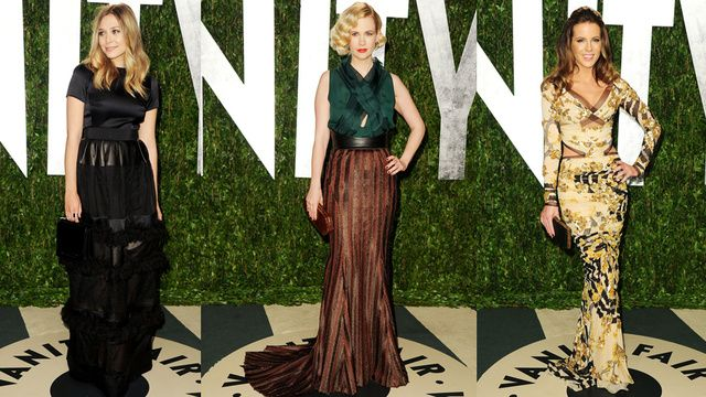 they panned it, but i love january jones' separates.  oscars.2012