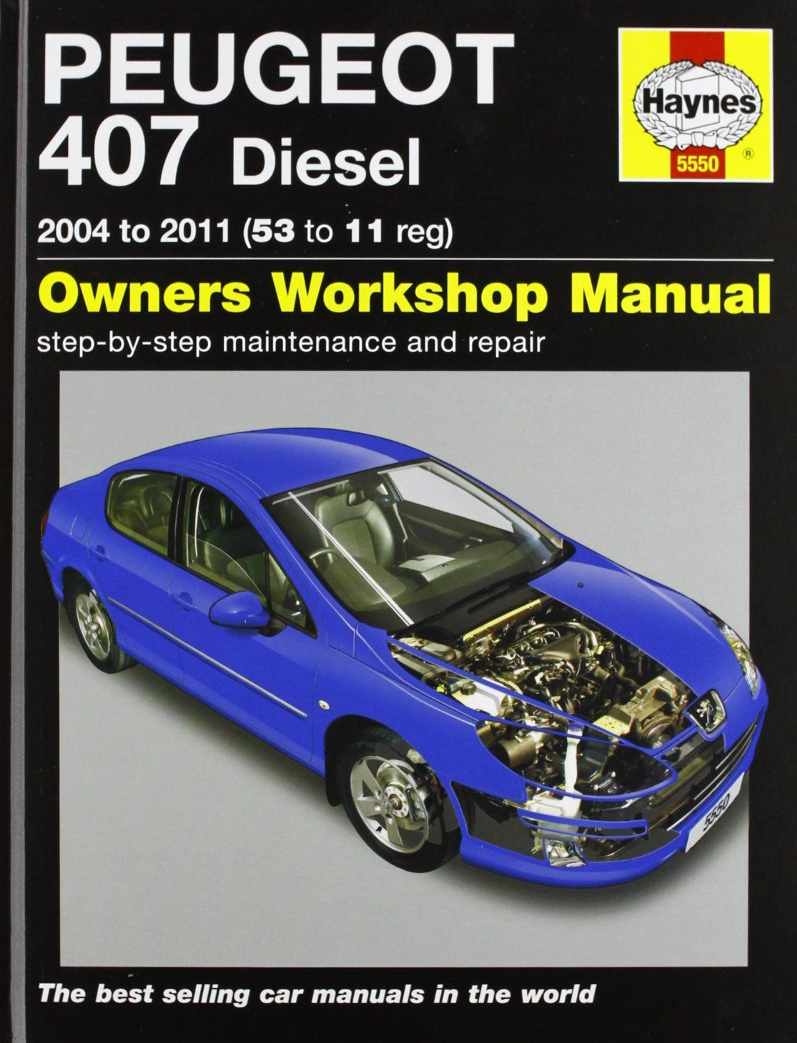 peugeot 407 diesel service and repair manual 2004 2011 haynes rh pinterest com car repair manual apps car repair manual free