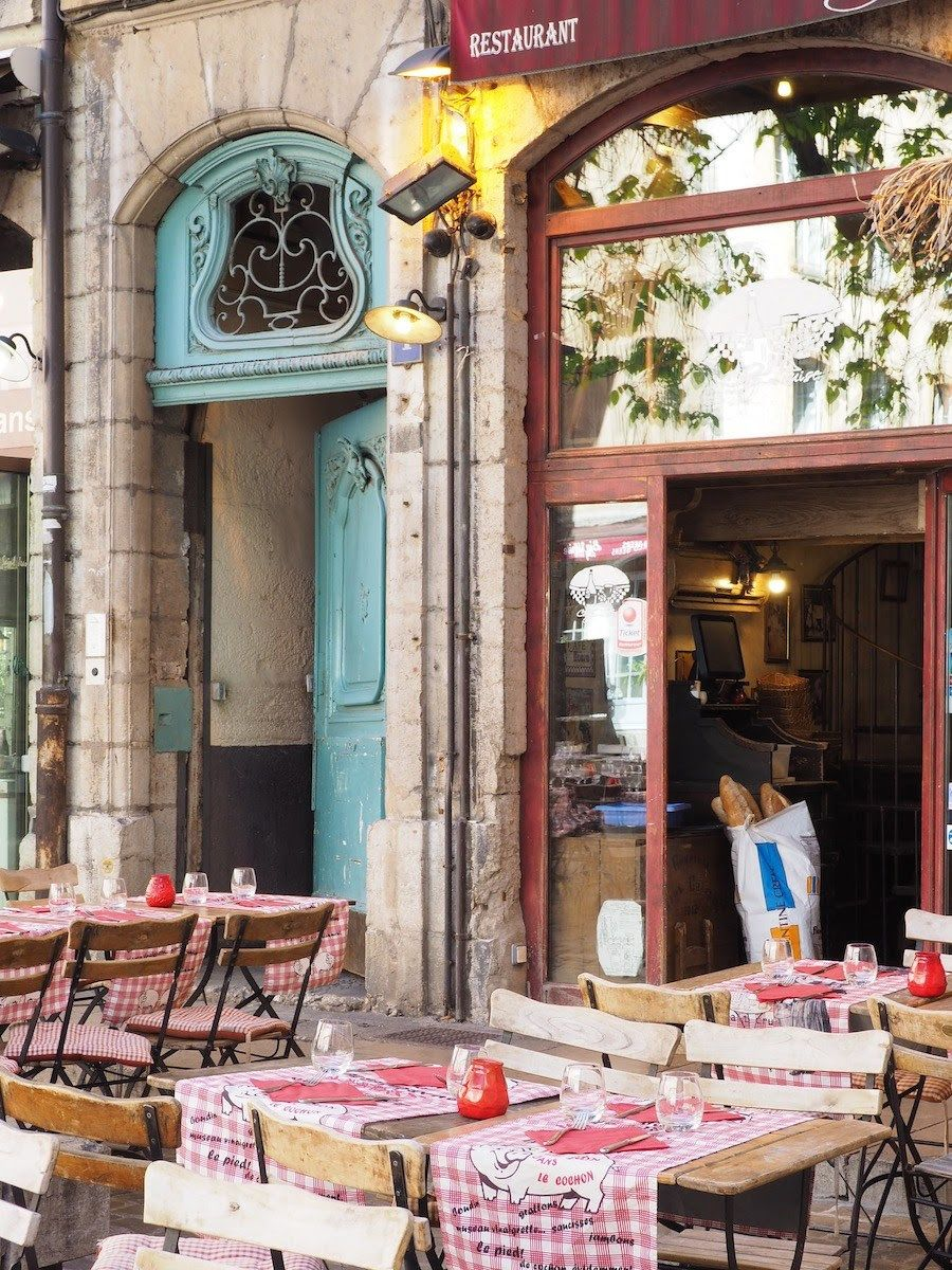 Visiting Lyon France Is A Food Lover S Dream The Outdoor Seating
