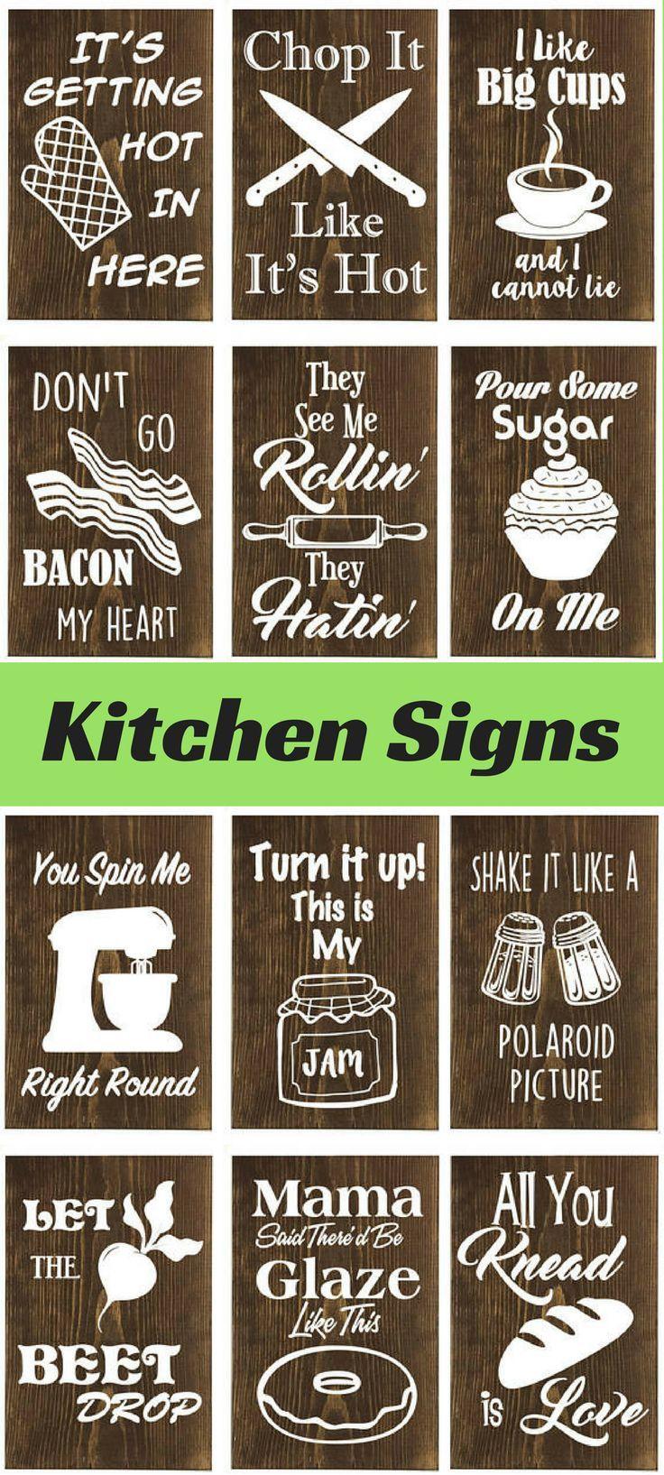 Funny Wooden Kitchen Sign Wall Decor Kitchen Humor Housewarming Kitchen Decor Home Decor Con Funny Kitchen Signs Wooden Kitchen Signs Kitchen Decor Apartment