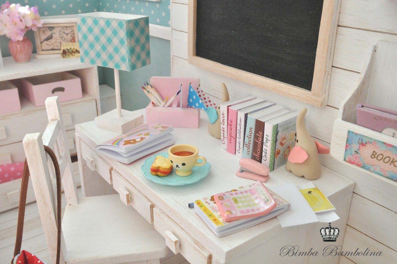 "Bimba Bambolina: OOAK Diorama ""Shabby Dreams for Amy"" Scale dolls 1:6 Blythe, Pullip, Momoko, Licca, Yo-Sd, Barbie and Monster High."