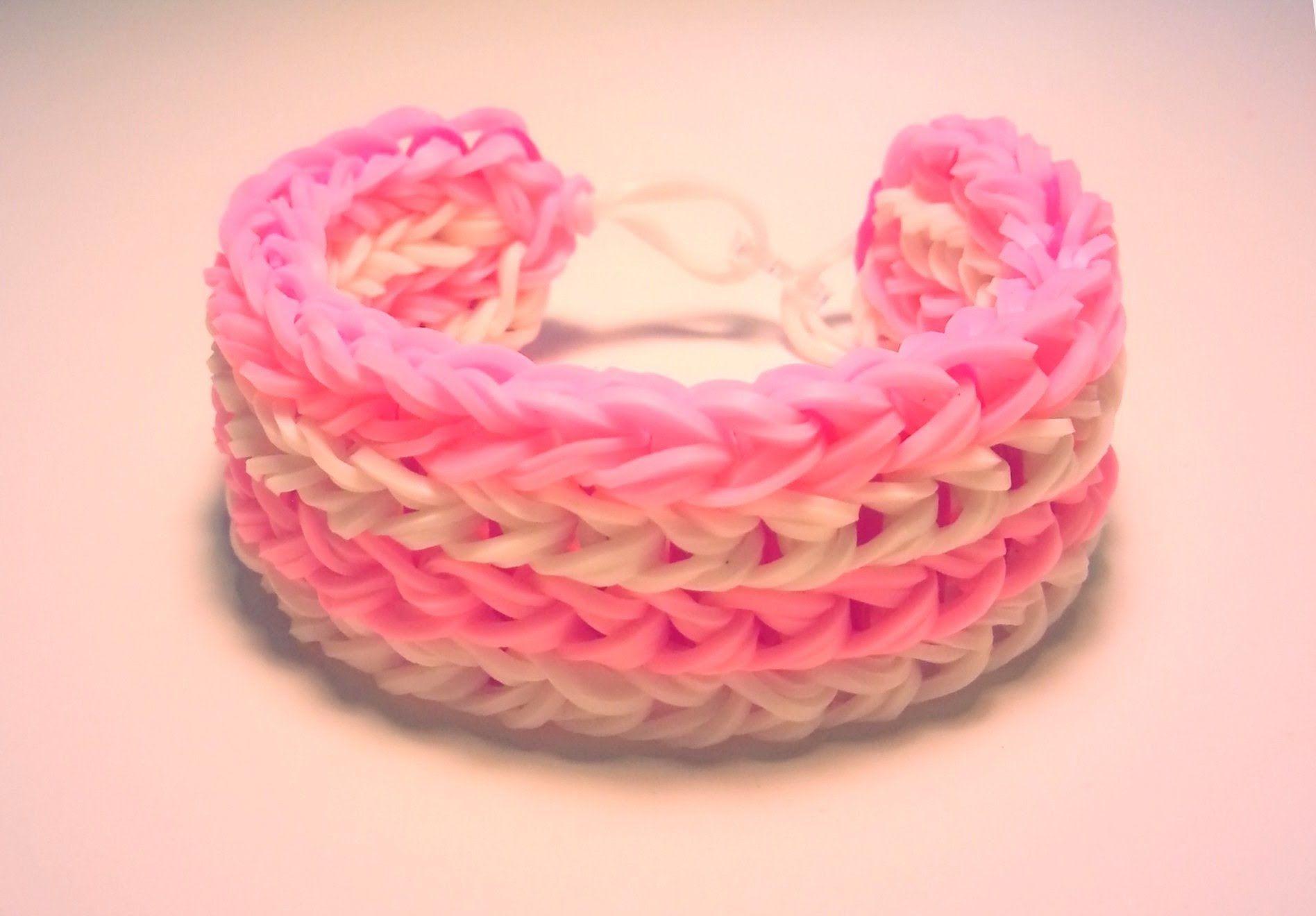 comment faire un bracelet avec des lastiques sans machine rainbow looms pinterest comment. Black Bedroom Furniture Sets. Home Design Ideas