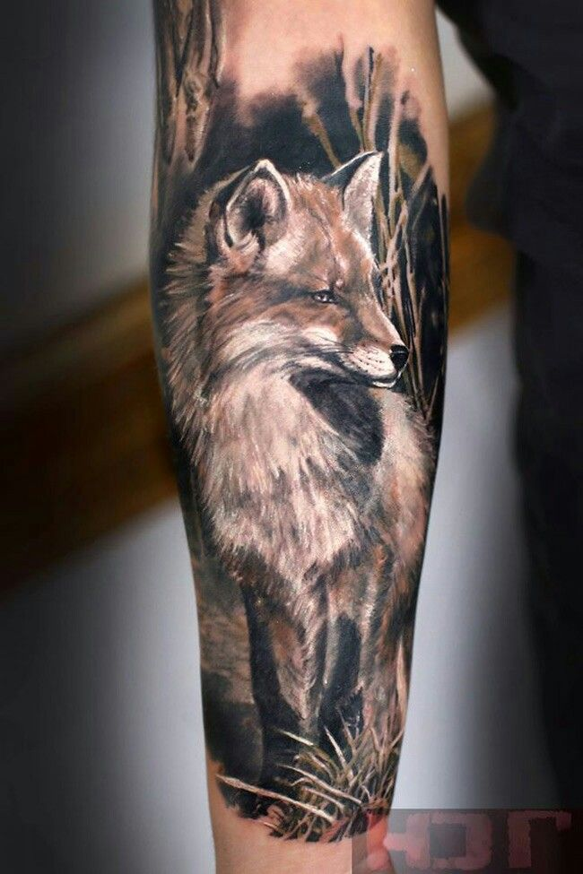 Fox Tat Half Sleeve Tattoo Half Sleeve Tattoos For Guys Best Sleeve Tattoos