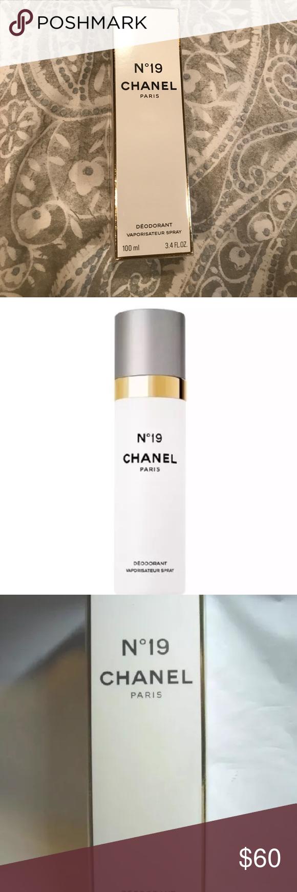 4fd9697b47 Chanel N' 19 deodorant spray 100ml / 3.4 oz This deodorant spray ...