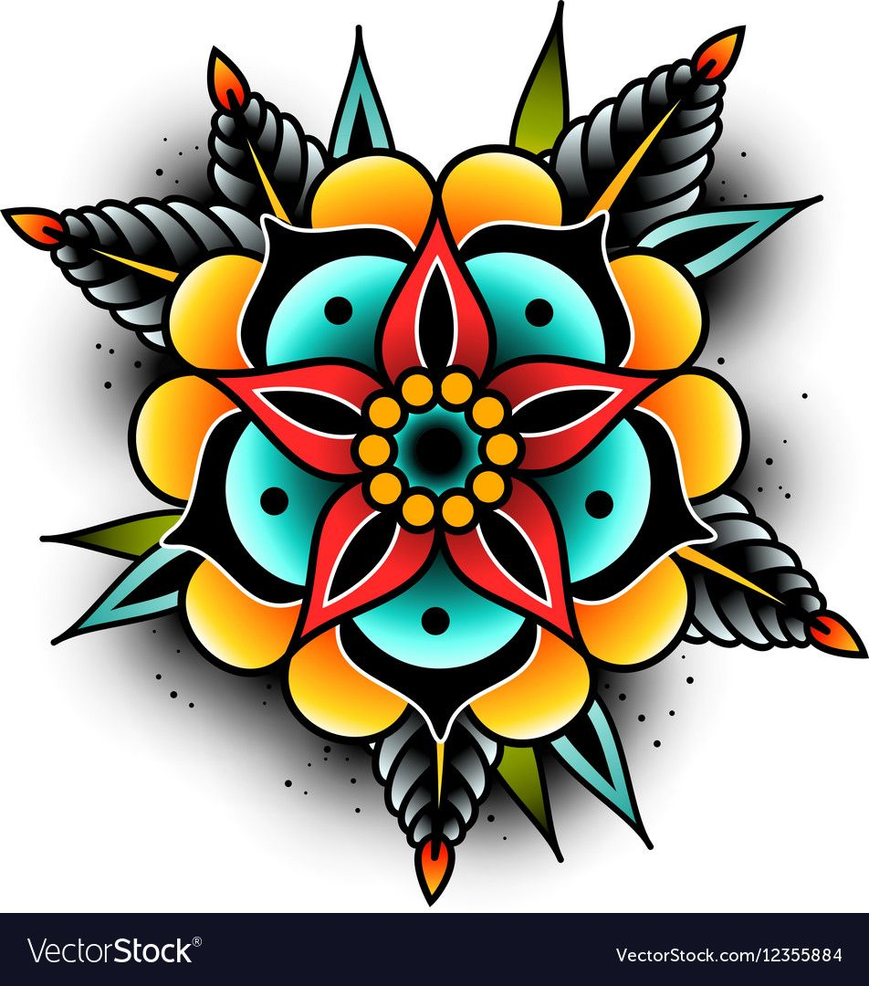Photo of Colored tattoo