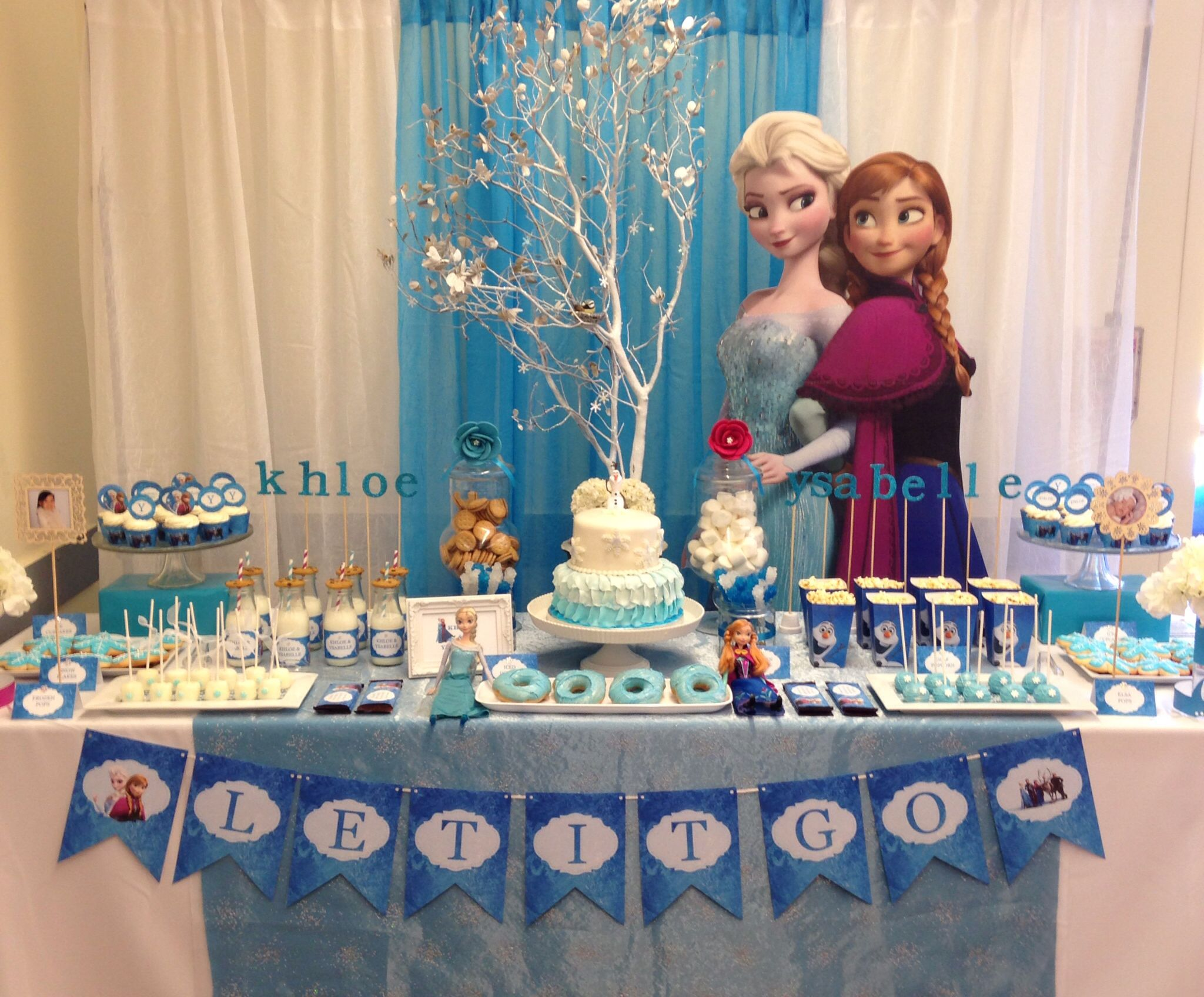 Frozen party JUST LOVELY FAVORS Pinterest Frozen party and