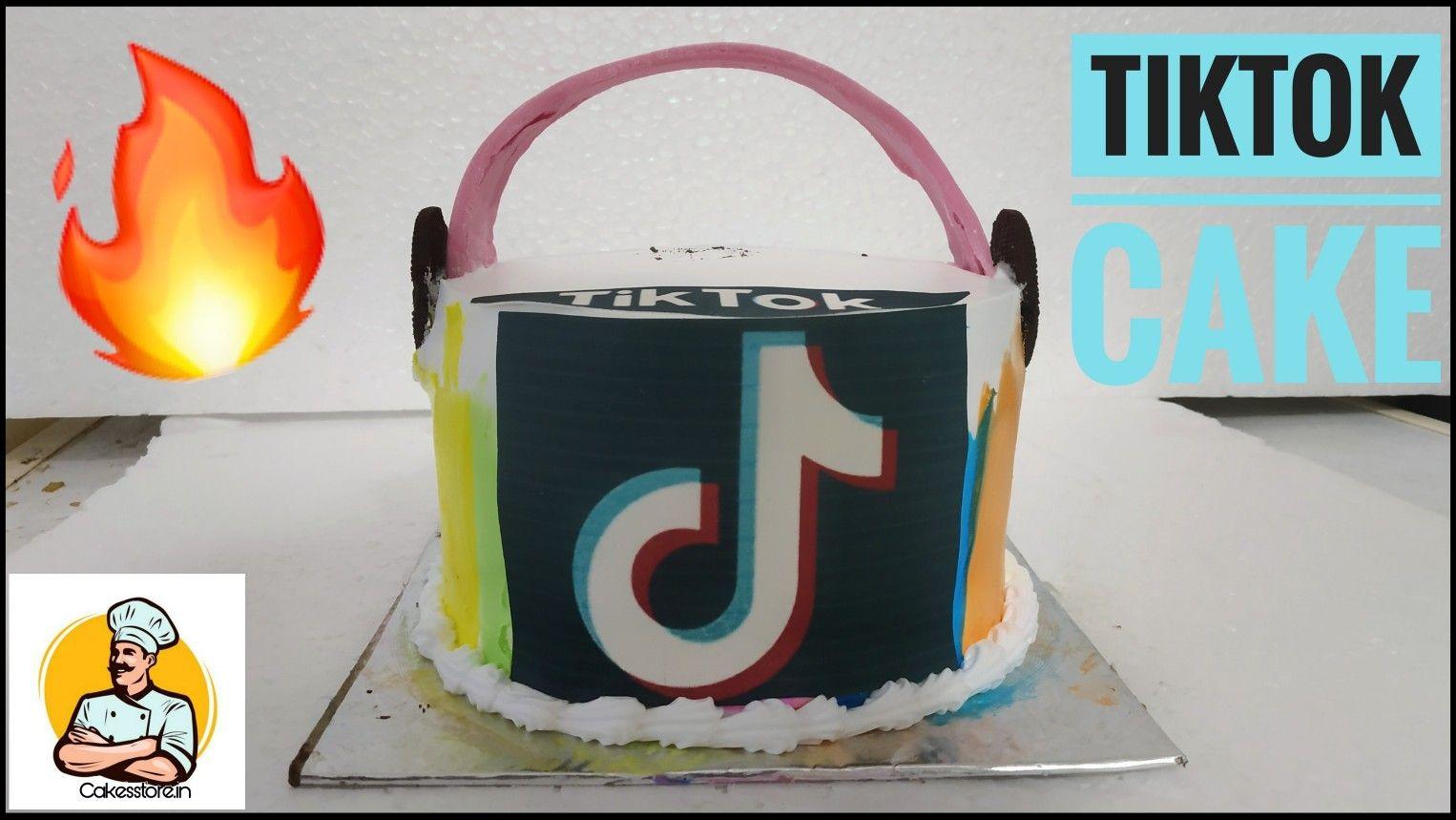 Tiktok Cake Photo Cake Easy Cake Decoration Photo Cake Storing Cake Cake
