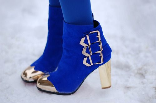 cobalt and gold!