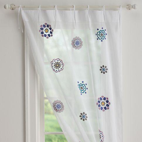 Suzani Sheer Curtain Sheer Curtain Suzani Curtains