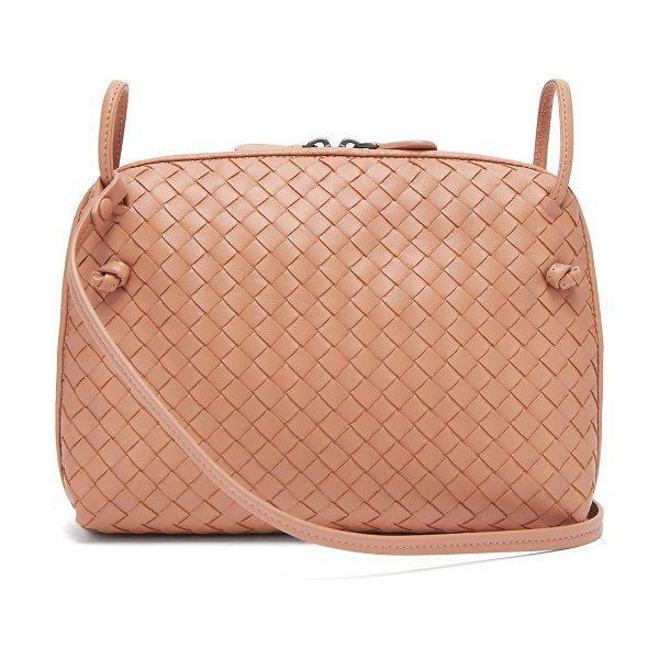 378d9f5cd7 Nodini small intrecciato leather cross-body bag by Bottega Veneta   bottegaveneta  bags
