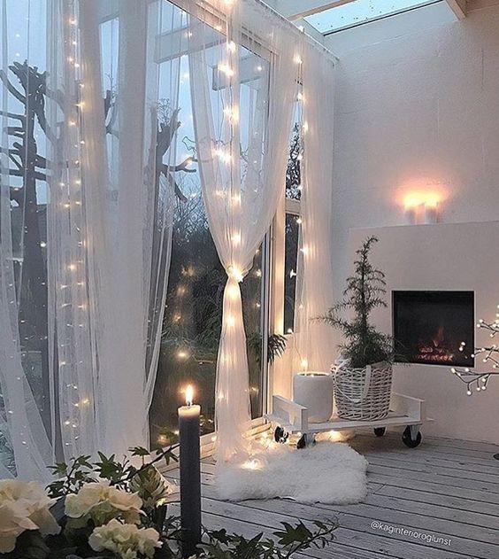 so bequem ja oder nein 8 ideen f r die dekoration mit lichtern sch nes f r zu hause. Black Bedroom Furniture Sets. Home Design Ideas