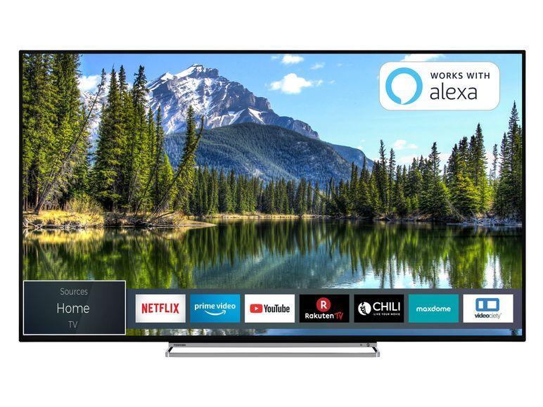 Toshiba 50vl5a63dg 126 Cm 50 Zoll Fernseher 4k Ultra Hd Dolby Vision Hdr Triple Tuner Smart Tv Lidl De Fernseher Led Fernseher Fernsehen Heute