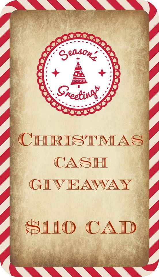 Enter to win some extra money this Christmas!