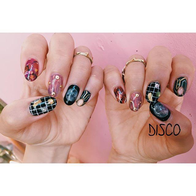 New Work disco disconail @disco_tokyo