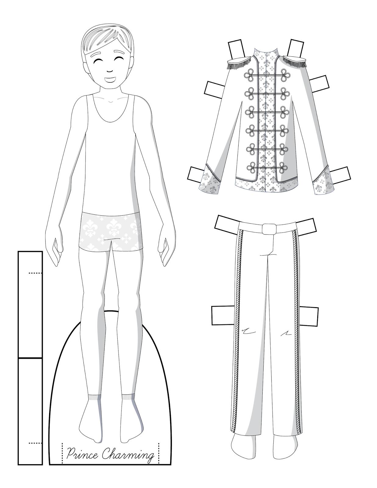 шаблоны мужской одежды для вырезания поборолись пяти